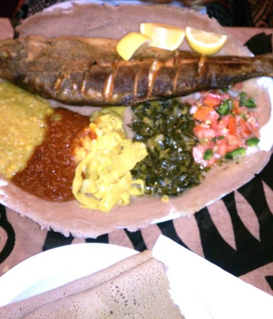 Mercato Ethiopian Restaurant S. Fairfax LA