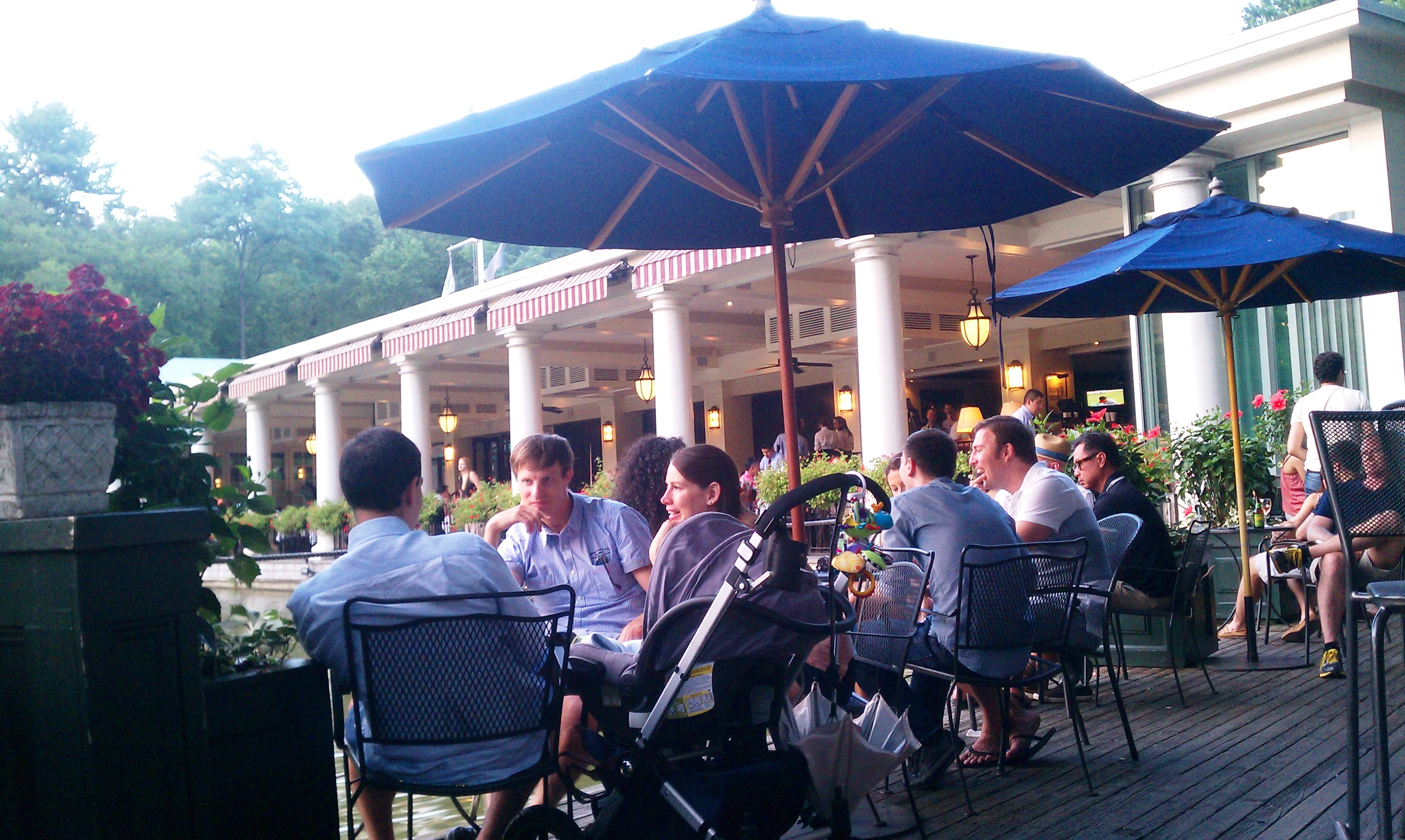People at The LOEB Boathouse